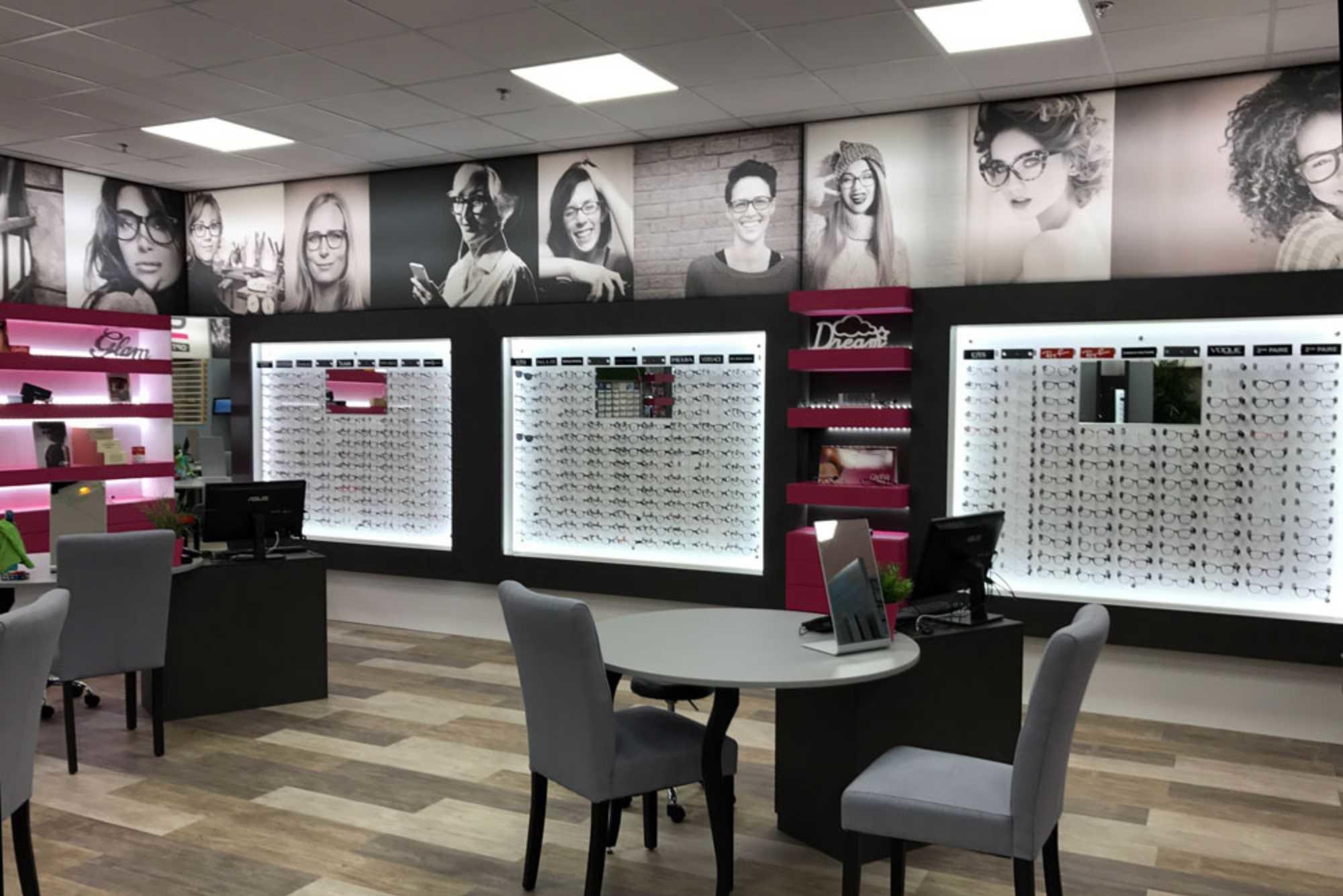 Agencement magasin optique Hérault